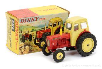 Dinky 308 David Brown Tractor - RARE VARIATION
