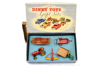 Dinky 1 Farm Gear Set to include 27a Massey Harris Tractor -