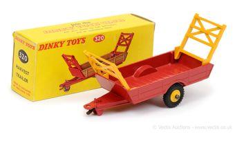 Dinky 320 Harvest Trailer - red