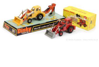 "Dinky 437 Muir Hill 2-wheel Loader ""Taylor Woodrow"""