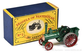 Matchbox Models of Yesteryear Y1 1925 Allchin Traction Engine