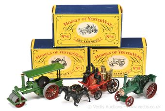 Matchbox Models of Yesteryear boxed early group