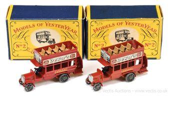 "Matchbox Models of Yesteryear Y2 1911 ""B"" type London Bus"
