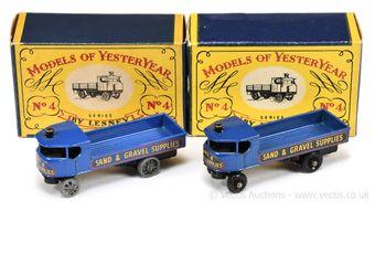 Matchbox Models of Yesteryear Y4 1928 Sentinel Steam Wagon