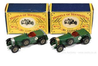 Matchbox Models of Yesteryear Y5 1929 Le Mans Bentley