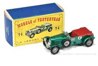 Matchbox Models of Yesteryear Y5 1929 4.5 litre Bentley
