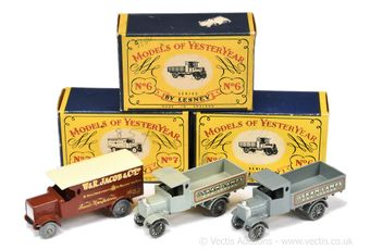 Matchbox Models of Yesteryear a boxed early group