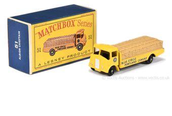 Matchbox Regular Wheels 51a Albion Chieftain Cement Truck