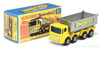 "Matchbox Superfast 51c AEC Tipper Truck ""Pointer"""