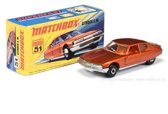 Matchbox Superfast 51d Citroen SM (Superfast 51b)