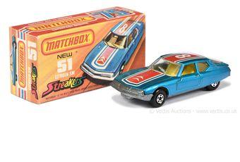 Matchbox Superfast 51d Citroen SM Streakers issue