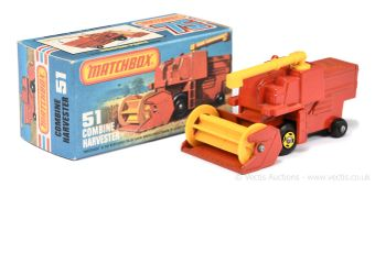 Matchbox Superfast 51e Combine Harvester (Superfast 51c)