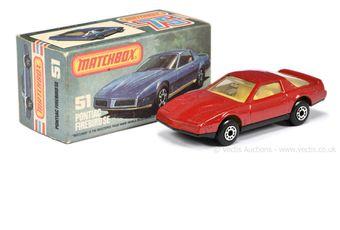 Matchbox Superfast 51g Pontiac Firebird SE