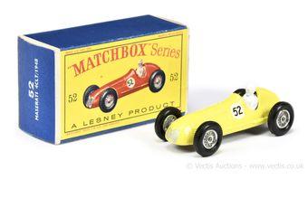 Matchbox Regular Wheels 52a 1948 Maserati 4CLT Racing Car