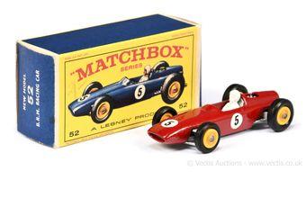 Matchbox Regular Wheels 52b BRM Formula 1 Racing Car