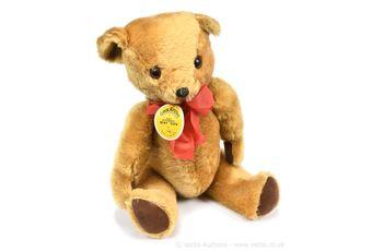 Gwentoys golden mohair vintage teddy bear