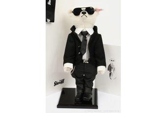 Steiff Karl Lagerfeld teddy bear, white tag 657726
