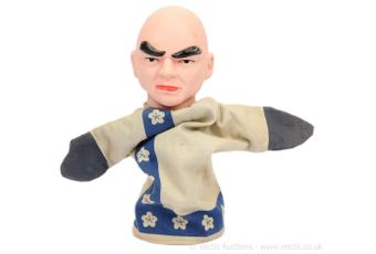 """Cecil Coleman """"Thunderbirds"""" Hand Puppet """"The Hood"""""""