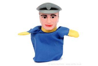 "Cecil Coleman ""Thunderbirds"" Hand Puppet"