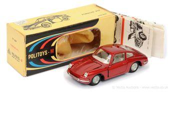 Politoys 527 Porsche 912 - metallic red