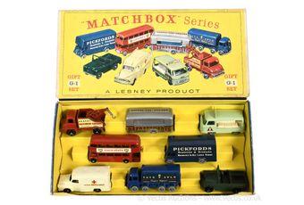 Matchbox Regular Wheels G-1 Commercial vehicle gift set