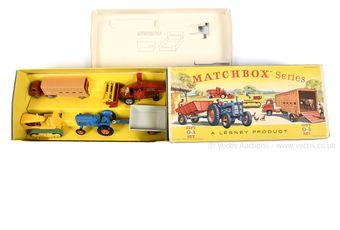 Matchbox Regular Wheels G-3 Farming gift set containing