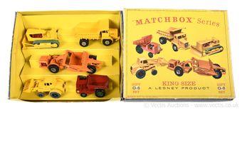 Matchbox King Size G-8 Civilian Engineering Construction gift
