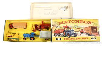Matchbox G-3 Farming Gift Set containing