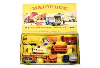 Matchbox Regular Wheels G-6 Commercial Truck gift set containing