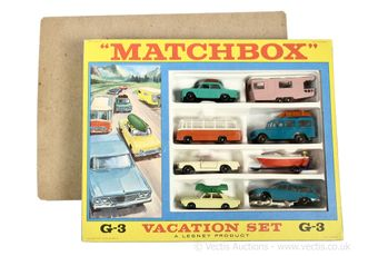 Matchbox Regular Wheels G-3 Vacation gift set