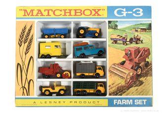 Matchbox Regular Wheels G-3 Farm gift set