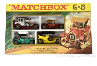 Matchbox Models of Yesteryear G-5 Famous Cars of Yesteryear gift