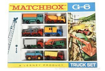 Matchbox Regular Wheels G-6 Commercial Truck gift set