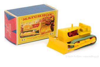 Matchbox King Size K3 Caterpillar D9 Bulldozer