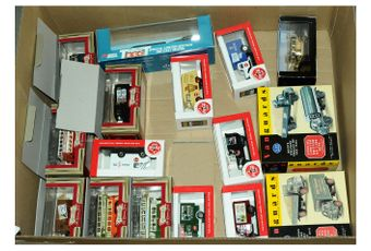Lledo a small quantity of boxed models which are all mainly boxed