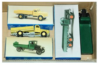 Conrad a boxed group of 1/43rd scale Commercial vehicles