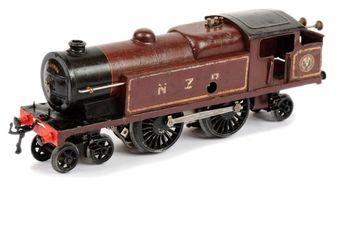 Hornby O Gauge New Zealand Railways 442 clockwork Tank Locomotive