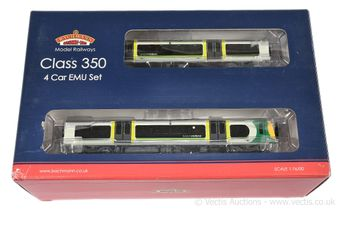 Bachmann OO Gauge 31-031 4-car London Midland grey/green livery